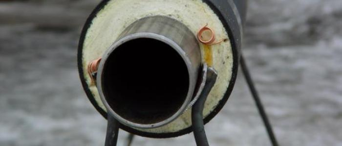Трубы с пенополиуретановой изоляцией